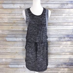 Lou & Grey Dresses - Lou & Grey Drawstring Heathered Sleeveless Dress